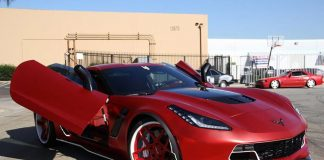 [PICS] C7 Corvette Z06 Receives Satin Red Chrome Wrap