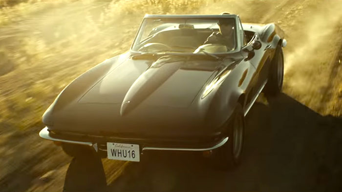 [VIDEO] 1967 Corvette Featured in Apple Music Commercial with James Corden