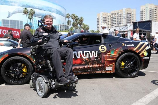Sam Schmidt First in Nation to Receive Drivers License for Autonomous Car
