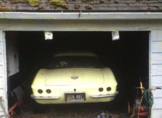 Corvettes on eBay: Barn Find 1963 Corvette Big Brake Fuelie