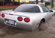 [VIDEO] Flodded C5 Corvette is a Victim of Hurricane Matthew