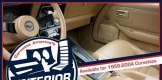Corvette America Offers the Original Interior Package for 1959-2004 Corvettes