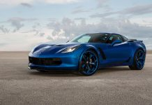 [PICS] 'Blue Flame' Corvette Z06 Looks Regal with Blue Forgiato Wheels