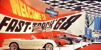 [PIC] Throwback Thursday: 1968 Corvette Show Display
