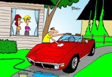 Saturday Morning Corvette Comic: Don't Forget The Wife