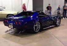 [VIDEO] Very Loud Custom Corvette from MCACN is a Teenage Boys Dream
