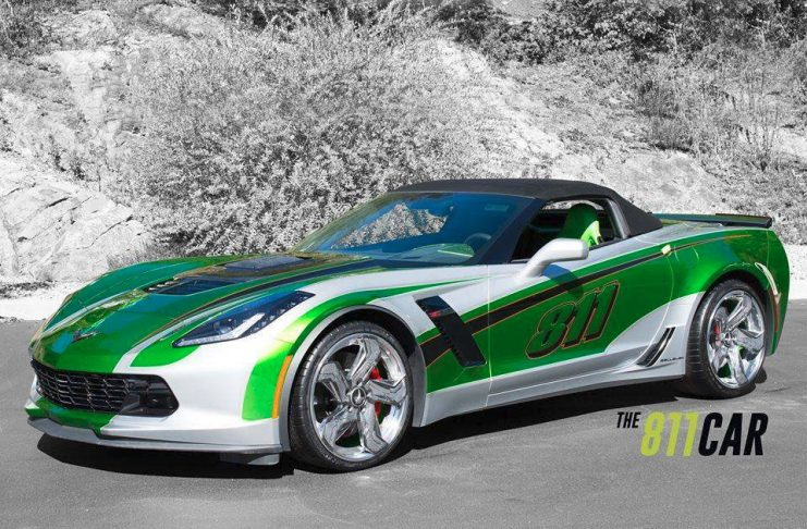 [VIDEO] We're Digging this New Callaway SC757 Corvette Z06 Known as the 811 Car