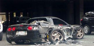C5 Corvette Driver Survives Crash But Morns Loss of His 'Joy, Pride and Best Friend'