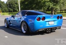 [VIDEO] 820 Horsepower Corvette ZR1 is One Nasty Blue Devil