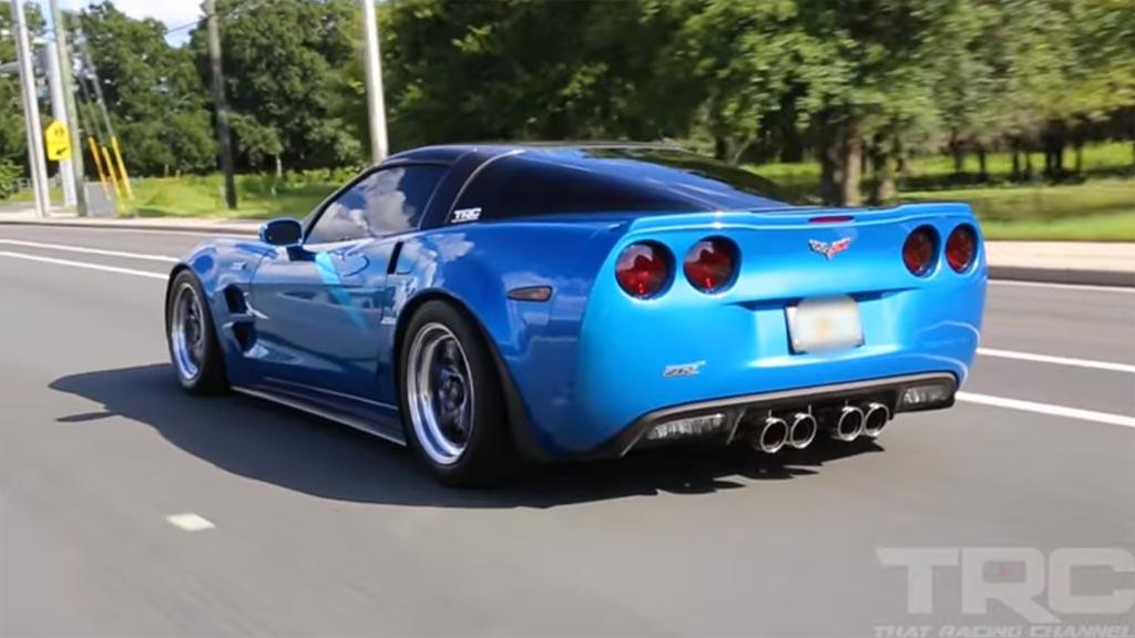 VIDEO] 820 Horsepower Corvette ZR1 is One Nasty Blue Devil ...