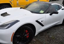 Canadian Police Show Off C7 Corvette Stingray Impounded for Speeding