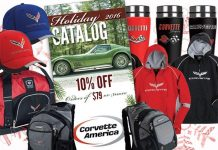 Corvette America's Holiday Catalog Has Arrived