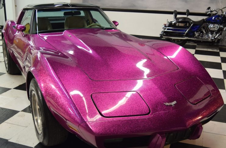 Corvettes on eBay: Custom Disco Purple 1979 Corvette