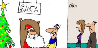 Saturday Morning Corvette Comic: You're Never Too Old to Wish for a Corvette for Christmas