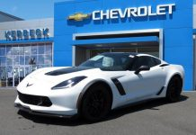 November 2016 Corvette Sales