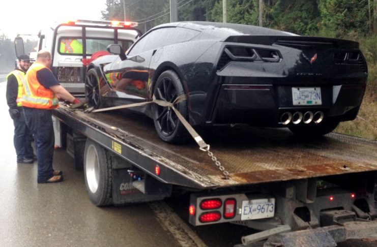 Canadian Corvette Impounded 30 days for Having Dark Tints on Windows and Taillights