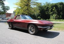 Corvettes on eBay: Two-Owner 1967 Corvette Convertible Barn Find