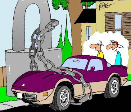 Saturday Morning Corvette Comic: Extreme Security Measures, Part 2