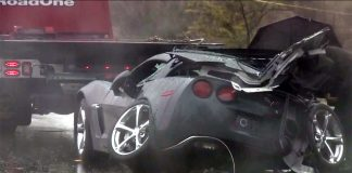[ACCIDENT] Rainy Weather Blamed for Crash that Killed a 64-Year-Old Corvette Driver