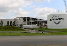 Shut Down of the Corvette Assembly Plant is Due to Maintenance and Construction