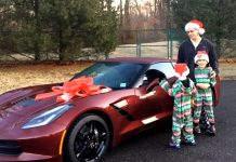 [VIDEO] Wife Surprises Her Husband this Christmas with a New Corvette Stingray