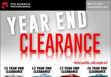 Shop Mid America Motorworks Year End Clearance Sale