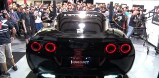 [VIDEO] Vengeance Racing's 1250 HP Corvette From Hell on the Dyno