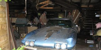 1967 Big Block Corvette Rescued from 35 Year Slumber