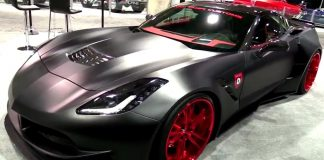 [VIDEO] Custom XIK Widebody C7 Corvette Stingray by Ivan Tampi Customs