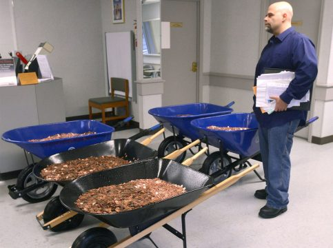 Virginia Man Pays DMV Sales Tax for New Corvette with 300,000 Pennies