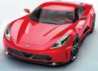 Corvette Body Spotted at GM Battery Lap Powers Rumors of an Electric 'Vette