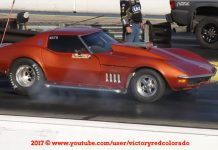 [VIDEO] Diesel-Powered 1968 Corvette Rolling Coal on Way to 11 Second Pass