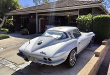 Corvettes on eBay: 1964 Corvette Survivor Was Driven As It Should