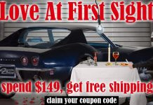 Get Free Shipping for your True Love at Corvette Central