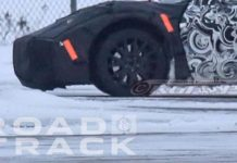 [SPIED] Mid Engine C8 Corvette with C7 ZR1s Undergoing Cold Weather Testing