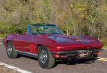 Corvettes on eBay: Star Trek's 1965 Corvette Boldy Goes on Sale