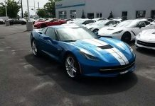 January 2017 Corvette Sales