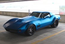 [PICS] Matte Blue 1969 Corvette Stingray on Forgeline Wheels