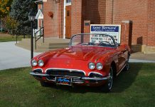 Get your Tickets for the St. Bernard Classic Corvette Raffle and Win a 1962 Corvette