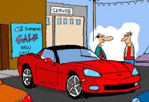 Saturday Morning Corvette Comic: Let Me Ask My Manager...