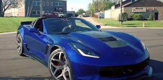 [VIDEO] Weapon X Motorsports 1,000 HP Corvette Serves Up Some Donuts