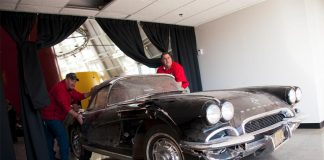 [VIDEO] National Corvette Museum Begins Restoration of the 1962 Sinkhole Corvette