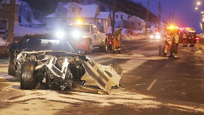 [ACCIDENT] Police Seek Driver of a Corvette in Three Car Crash