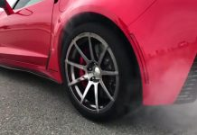 [VIDEO] Callaway SC757 Corvette Z06 AeroWagen Burns Rubber in Super Slow-Mo