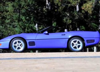 [VIDEO] 30 Years of Callaway Corvettes: 1991 Callaway B2K Twin Turbo 100 Plus Car