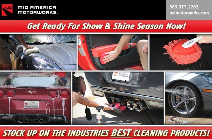Stock Up on Corvette Cleaning Supplies at Mid America Motorworks