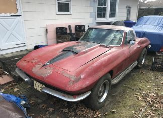 Corvettes on eBay: Backyard 1967 Corvette Sting Ray