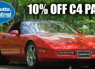 Save 10% On C4 Corvette Parts from Corvette Central