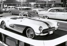 1957 Corvette Super Sport Concept to be Shown at Ameila island