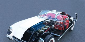 [PICS] Kevin Mackay's Drivable Cutaway 1953 Corvette Chassis #003 to be Shown at Amelia Island